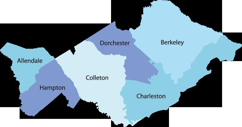 Charleston-wilbert-areas-served